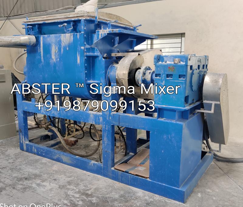 sigma mixer for hotmelt adhesive